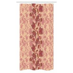East Urban Home Ambesonne Floral Stall Shower Curtain, Boho Flowers In Vibrant Colours Moroccan Culture Blossoms Vintage Pattern Print, Fabric Bathroo Stall Shower, Hookless Shower Curtain, Print Patterns, Pattern Print, Boho Flowers, Bathroom Decor Sets, Shower Liner, Shower Curtain Sets, Moroccan Decor