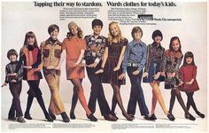 Montgomery Ward Dept. Store, 1971.