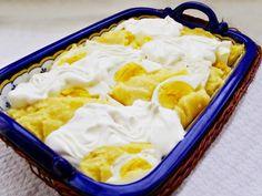 Mămăligă cu brânză în straturi sau paturi de mămăligă Nutella, Ganache, Mashed Potatoes, Icing, Ice Cream, Pudding, Ethnic Recipes, Desserts, Muffins