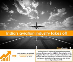 Can India's civil aviation industry become one of the world's biggest? #Spire#Spirethoughts#India#civilaviation#pppmodel#openskypolicy