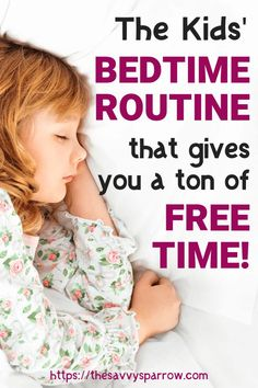 Free time for Moms is super important for Moms self care! This bedtime routine for kids gives you a TON of free time to destress at the end of the day! Use this bedtime routine for kids to make sure your kids get enough sleep. Parenting Classes, Parenting Teens, Parenting Advice, Parenting Websites, Foster Parenting, Toddler Sleep, Baby Sleep, Bedtime Kids, Bedtime Yoga