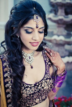 Cool 1000 Images About Indian Bride Hairstyles On Pinterest Saree Short Hairstyles Gunalazisus