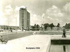 Rotterdam - Zuidplein. .1956 (nog lang geen Metro ).