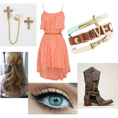 Great outfit idea for my senior pictures that are coming up. So cute