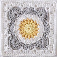 #grannysquareday2017 #lastone #crochetersofinstagram Crochet Granny Square - Daisy Farm Crafts Instagram