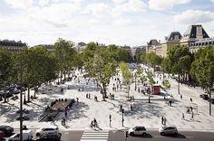 LAUD - landscape architecture: Place de la République, Paris, France