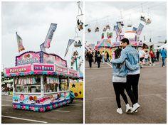 Carnival Engagement Session | Karay + David — Karina & Maks -Portland Wedding Photographer Couple Photography Poses, Couple Portraits, Wedding Photography, Engagement Session, Engagement Photos, Fair Pictures, Cute Couple Outfits, Cute Nicknames, Place To Shoot