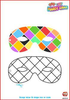 1000 images about carnaval on pinterest mardi gras animal masks and masks - Masque de carnaval a imprimer ...