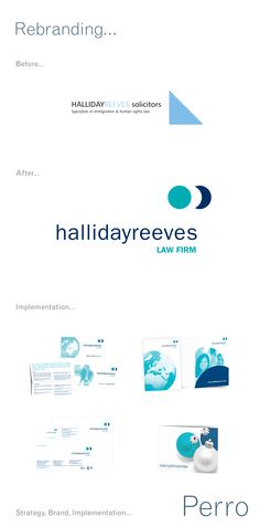 Halliday Reeves #Rebranding #design #northeast #Perro #graphicdesign #logo #identity #brand #corporateidentity