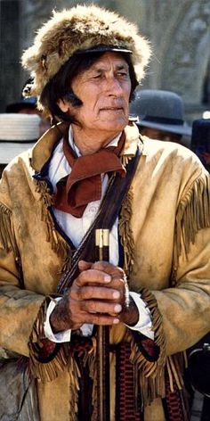 """Merrill Connally as Davy Crockett in """"The Alamo: The Price Of Freedom"""" Alamo Movie, Davy Crockett, Haile Selassie, Indian Scout, Bible Truth, Famous Men, Old West, Old Pictures, American History"""
