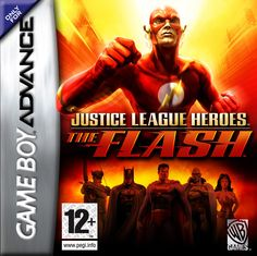 Justice League Heroes: The Flash Box Front