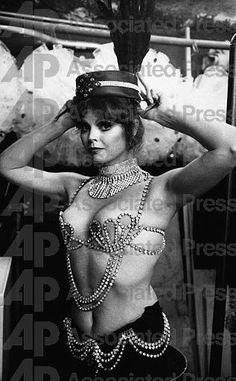 Folies showgirl Debbie Lee.