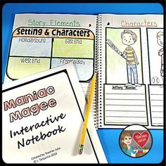Maniac Magee Interactive Notebook
