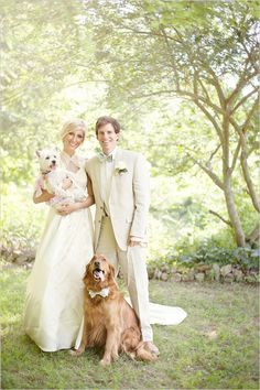Yep, you better believe we're going to have a bunch of wedding photos with our furry children <3