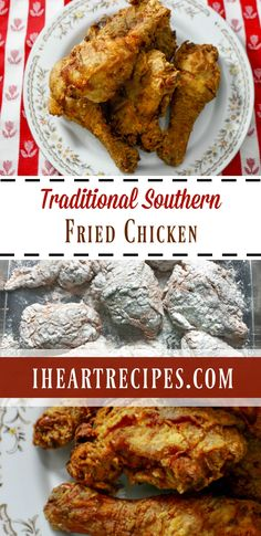 How to make crispy & juicy Traditional Southern Fried Chickenjust like your Grandma (or mom)! I just love southern fried chicken, but I'm sure that you all know that by now. I don'…