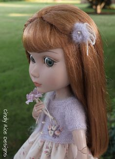 """""""Lovely in Lavender"""", made for Wilde Imagination's Patience doll, cindyricedesigns.com ."""