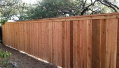 6 foot privacy fence with cap and trim