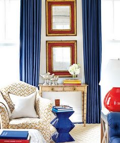 great idea for between the french doors