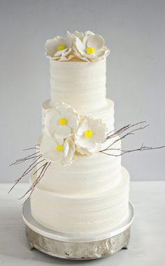 Oklahoma City Wedding Cakes - www.andreahowardcakes.com
