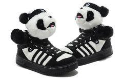 I still want   Adidas Jeremy Scott Panda Bear Sneaker