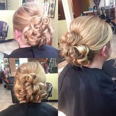Prom updo!