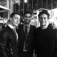 Teen Wolf ~ Colton Hayes, Tyler Hoechlin and Dylan O'Brien - Pre-Emmy Party 2014