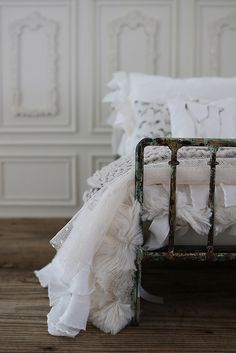 Custom bed linens | by Abi Monroe