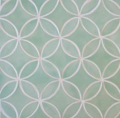 Mercury Mosaics | Moroccan Circles - 216 Sea Glass