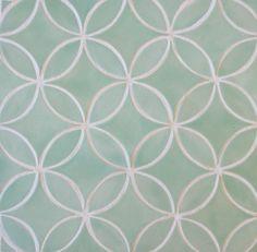 Mercury Mosaics | Moroccan Circles - 216 Sea Glass