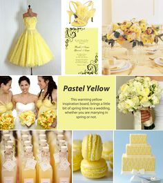 Pastel Yellow Inspiration Board