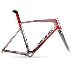 Eddy Merckx San Remo 76 Frameset - Silver / Red / Black / XLarge / Compact - 2015