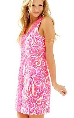 ed7445022da8 CHIC DIARY Women's Floral Printed Empire Waist Sleeveless A-line Mini Dress  Size L at Amazon Women's Clothing store: Lilly Pulitzer ...