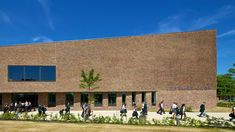 The RIBA Regional Award winning Tudor Grange Academy, specialising in science and enterprise, was completed in October School Design, Tudor, Secondary Schools, Dolores Park, Worcester, Architecture, Facades, Bricks, Surface