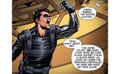 Bucky Barnes is not a villain