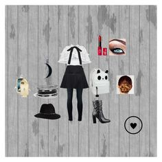 """""""School outfit"""" by rushpuppy ❤ liked on Polyvore featuring J Brand, Anine Bing, GUESS, Carolina Glamour Collection, STELLA McCARTNEY and Kerastase"""
