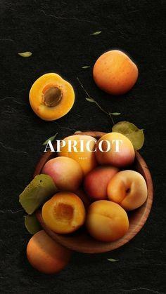 Food Design, Photo Fruit, Apricot Fruit, Fruits Photos, Gula, Fruit Photography, Fruits And Vegetables, Fresh Fruit, Food Styling