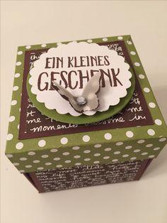 Stamp'in Up Explosionsbox Geburtstag_Ein kleines Geschenk. QUELLE: engelräume