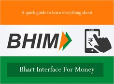 BHIM is an e-wallet or digital wallet app for smart devices and is currently available only for Android platform. The app is aimed at making transaction easie… Digital India, Digital Wallet, New Technology, Everything, Relationship, Entertaining, Learning, Writers, Apps