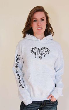 Believe in yourself First Nations, Graphic Sweatshirt, T Shirt, Hoodies, Sweatshirts, Polar Bear, Sweaters, Canada, Quotes