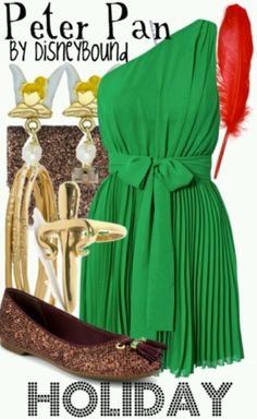 Lookout world, I'm officially going to be coordinating my outfits based on Peter Pan characters... Hate on it.