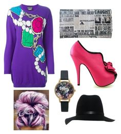 Feeling quirky by elenore64 on Polyvore featuring polyvore, fashion, style, Boutique Moschino, Olivia Burton and rag & bone