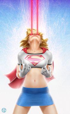 Marvel Dc Comics, Dc Comics Girls, Dc Comics Art, Dc Comics Characters, Marvel Girls, Supergirl Comic, Comic Book Girl, Comic Books, Female Hero