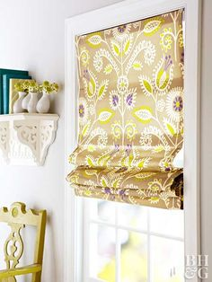 Roman shades are ideal window treatments if you want both function and style.