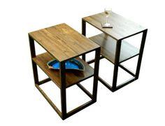 Modern Side Table / End Tabl by OrWaDesigns on Etsy