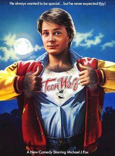 { 1985 } Teen Wolf  - Michael J. Fox