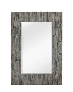 Take a look at this traditional mirror in a grey wash finish.
