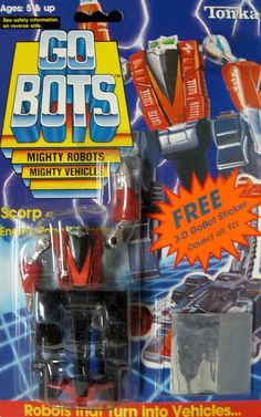 "GoBots ""Scorp"" Transforming Robot (Tonka) *SOLD*"