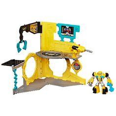 Playskool Transformers Rescue Bots Estación de Bublebee
