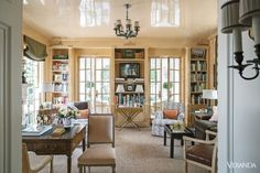 This stunning Texan abode from the latest issue of Veranda has me missing the sunny USA. Decorated byCathy Kincaid (rememberthis post?), the 1930s home was substantially renovated, but remains faithful to its original Spanish-influenced architecture. I love what Cathy did with the interiors from the soft blue and white palette to the layers of antique …