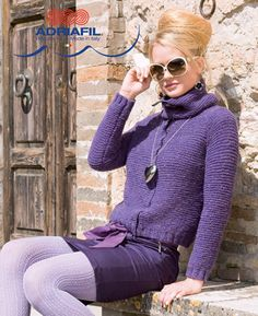 Gressoney Jacket in Adriafil Pois - Downloadable PDF. Discover more patterns by Adriafil at LoveKnitting. The world's largest range of knitting supplies - we stock patterns, yarn, needles and books from all of your favourite brands.